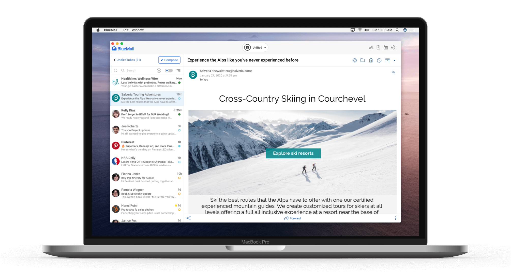 BlueMail for Mac OS